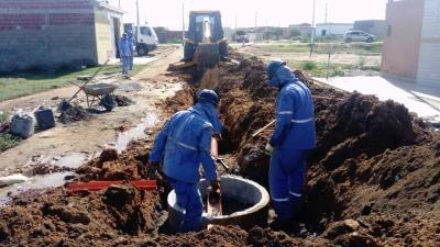 Obra sanitária em Petrolina