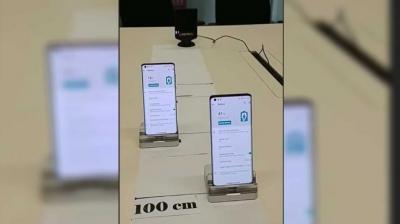 Motorola exibe carregamento sem fio a um metro de distância