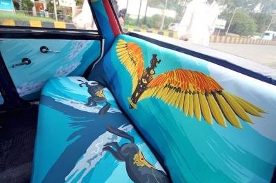 Os incríveis táxis indianos