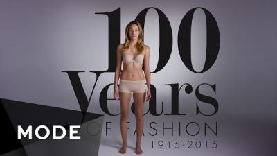 100 anos de roupas femininas, veja a evolução