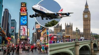 Será que os voos entre Londres e NY vão voltar em novembro?