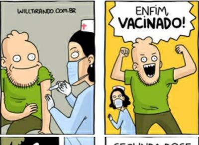 Enfim, vacinado!