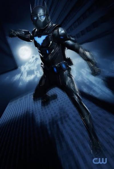 Batman Negro aparece em fotos de Batwoman