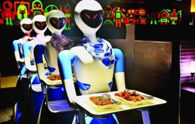 Índia terá restaurante com funcionários robôs