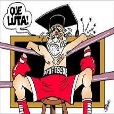 Trote do Tino - Professor de Luta