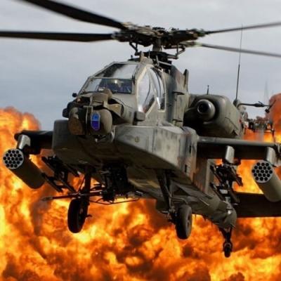 Sabia que existe helicóptero para combate militar temido no mundo inteiro