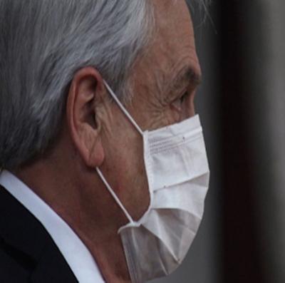 Atualmente Velório de tio de Piñera morto com coronavírus