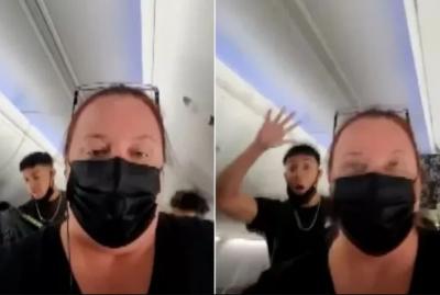 Adolescentes se recusam a usar máscaras e voo é cancelado