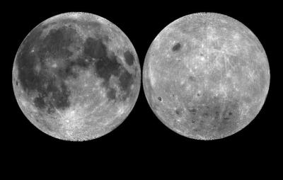 Estudo explica a diferença entre as faces da Lua