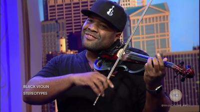Violinistas negros misturam hip hop com música clássica