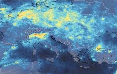 Covid-19 contribui para reduzir poluição do ar mundial; veja imagens