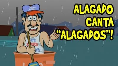 ALAGADO CANTA  'ALAGADOS'!