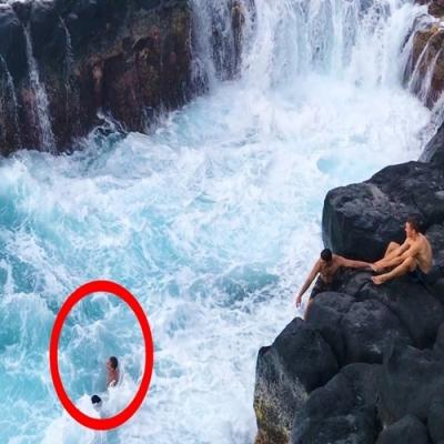 Conheça a piscina da morte na ilha de Kauai no Havaí