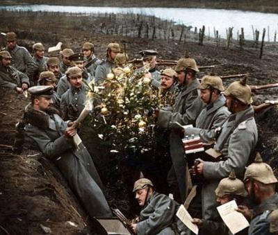 A guerra e a trégua de Natal – Imagine apertar a mão do inimigo!