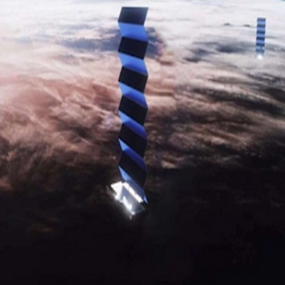 Satélites da SpaceX têm congestionado 2021