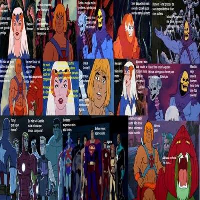 A Casa Caiu He-man! – Tirinhas do Mago