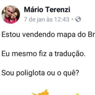 A melhor tradução do mapa do Brasil para o Inglês que você verá na vida!