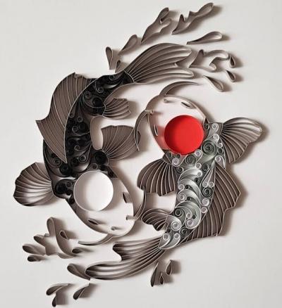 Artista usa papel para criar obras incríveis #2
