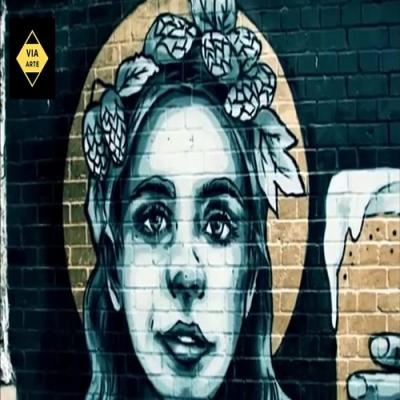 Artista de rua faz mural incrível com tinta spray