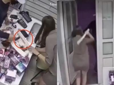 Funcionária de sex shop evita roubo com brinquedo sexual na Rússia