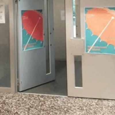 O Sensor da porta ativa com outra porta