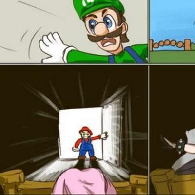 Mario precisa salvar a Bowsette!