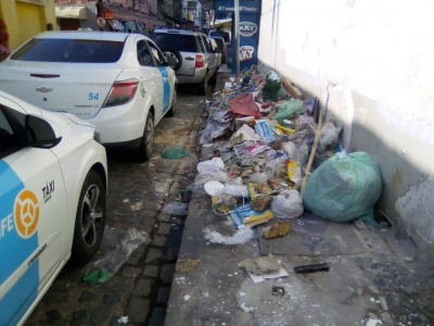 Lixo na Santa Rita