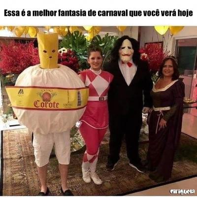 A melhor fantasia de carnaval
