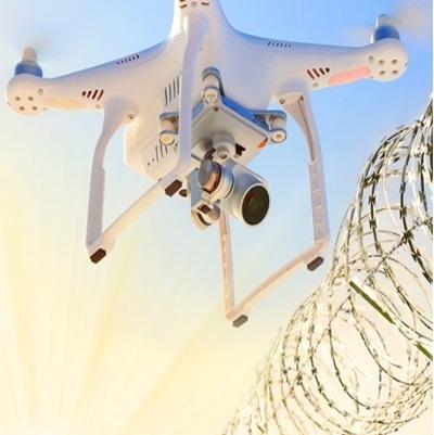 Quadrilha usa drones jogar celulares em prisões