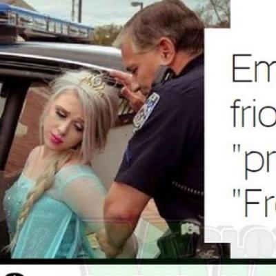 Elsa foi presa