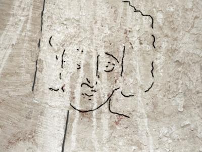 Imagem de Cristo com cabelo curto e encaracolado é descoberta em Israel