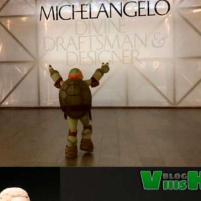 A exposição do Michelangelo