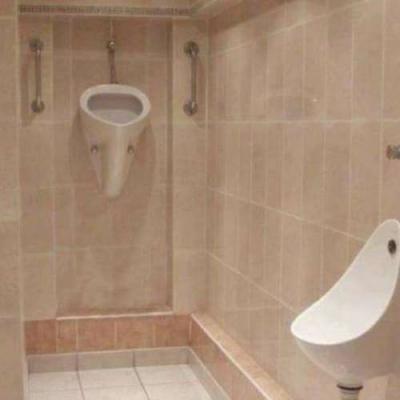 Banheiro para gigantes