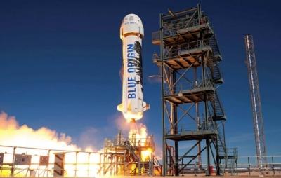 Blue Origin recebe lance de mais de US$ 2 milhões por primeira passagem