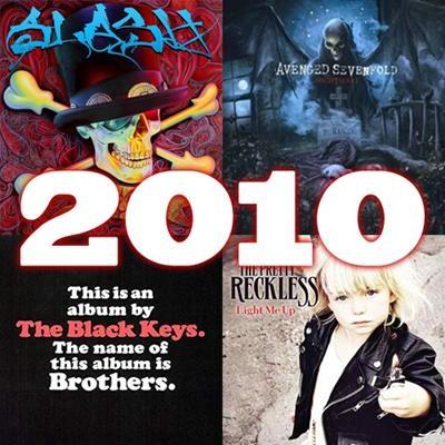 O melhor do rock em 2010