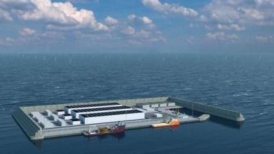 Dinamarca vai construir a primeira ilha de energia do mundo