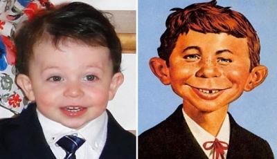 17 Bebês que são a cara de celebridades