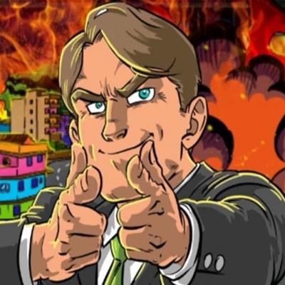 Presidente Bolsonaro é atacado