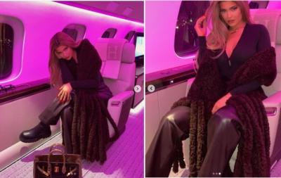 Ostentação: Kylie Jenner mostra avião de R$ 194 milhões