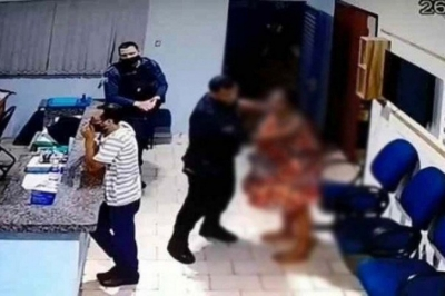 PM agredi mulher algemada dentro de quartel