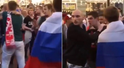Mexicano tenta apartar briga falando Tranquilovsky