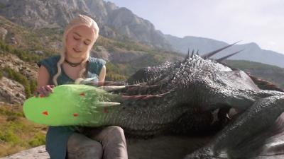 Veja como era Game of Thrones sem os efeitos especiais