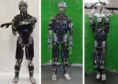 Robôs já conseguem fazer exercício