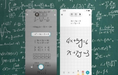 Novo aplicativo da Microsoft resolve problemas matemáticos