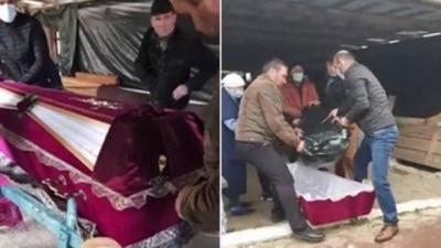 Famílias têm que trocar corpos de falecidos após receberem cadáveres errados