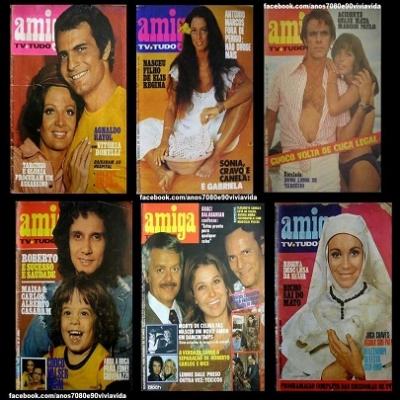 Revista Amiga - Em  maio de 1970, A primeira edição de Amiga chegava as bancas .