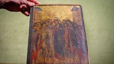 Quadro de Cristo quase foi jogado no lixo e era obra-prima de milhões de dólares