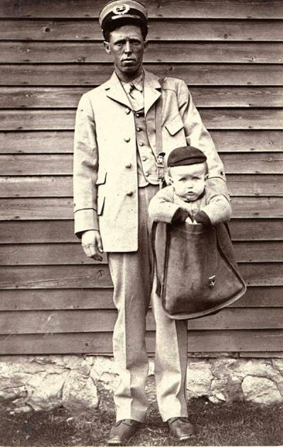 O Envio de crianças pelo correio