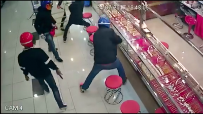 Quando você é idiota demais pra roubar algo