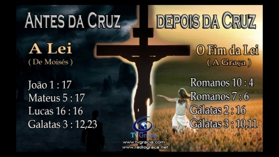 As obras da Lei substituídas pela fé em Cristo
